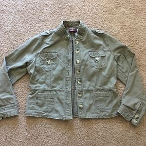 Jordache Jacket w/ Pockets juniors XL 15/17